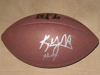 Kenny Vaccaro Signed Football Texas New Orleans Saints COA