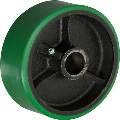 "5"" x 2"" Polyurethane on Cast Iron Wheel with Bearing - 1 EA"