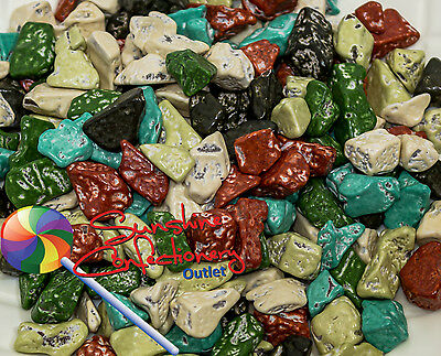 Chocolate Rocks - Chocolate Stones - 400 gm - cake decorating, themed chocolate