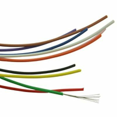 7/0.2mm Single Core Hook Up Wire Yellow (10 Metres)