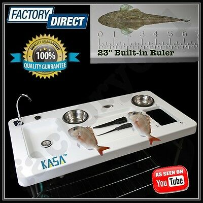 Portable  Fish Fillet Table Kitchen Sink Camping Barbecue Outdoor Caravan BBQ !!