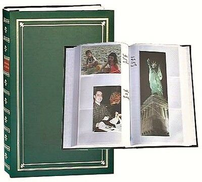Pioneer BP- 200/HG  4x6 Album Holds 200 Photos + Unlimited Refills: Hunter Green
