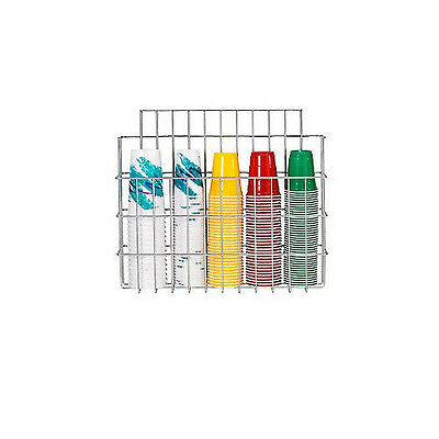 """Surface Mounted Wire Cup Caddy-5"""" x 22"""" Cups Holder"""