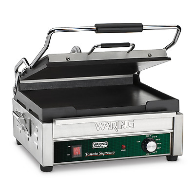 Waring Panini Grill - Sandwich Maker - Flat Plate - Restaurant Concession Equip.