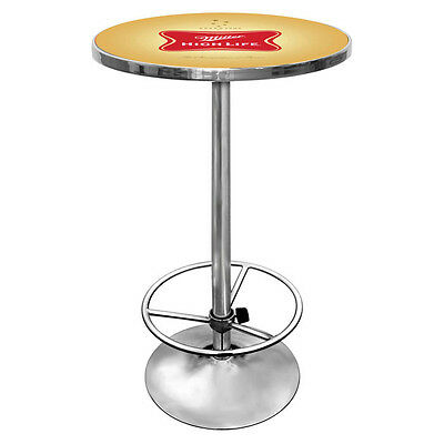 New Miller High Life Beer Round Home Bar & Pub Table