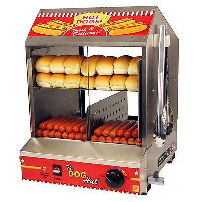 Paragon Hot Dog Hut Steamer and Merchandiser - Commercial Hotdog Concessions!