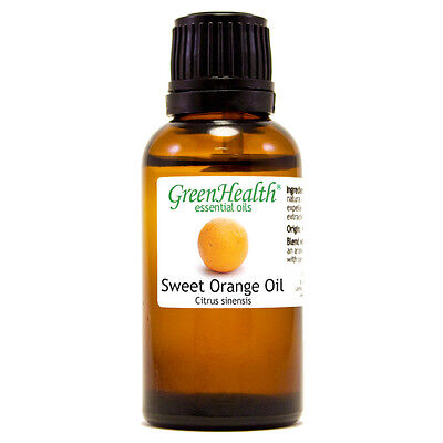 1 fl oz Orange Sweet Essential Oil (100% Pure & Natural) - GreenHealth