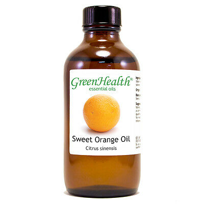 4 fl oz Orange Sweet Essential Oil (100% Pure & Natural) - GreenHealth