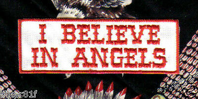 I Believe In Angels Sylha Patch - 1% Angels - 666 Hells Bikers