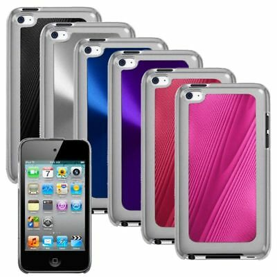 Pink Black Blue Purple Hard Protector Cover Case For iPod Touch 4 4th Gen 4G