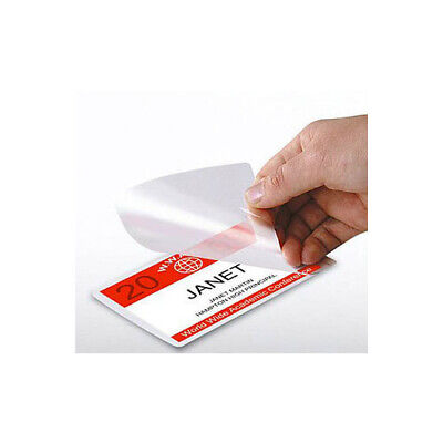 Business Card Size 5 mil Laminating Pouches Box of 500 Heat Sealing