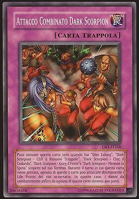 Attacco Combinato Dark Scorpion - Dr1-It260 Yu-Gi-Oh
