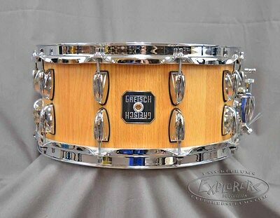 Gretsch 6.5x14 Solid Oak Staved Snare Drum S6514SSOSN