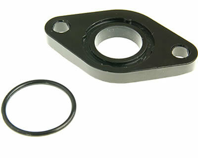 GY6 139QMA/QMB 50cc Inlet Intake Manifold Spacer Plate & O-Ring