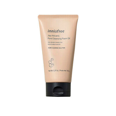 Innisfree Jeju Volcanic Pore Cleansing Foam 150ml Free gifts