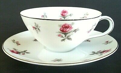 "Vintage Meito Rose Chintz Cup and 6"" Saucer (2- pc set) Rosechintz"