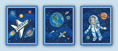 Space Explorer Prints. Planets, Stars, Outer space, Kids/Nursery Wall Art/Decor