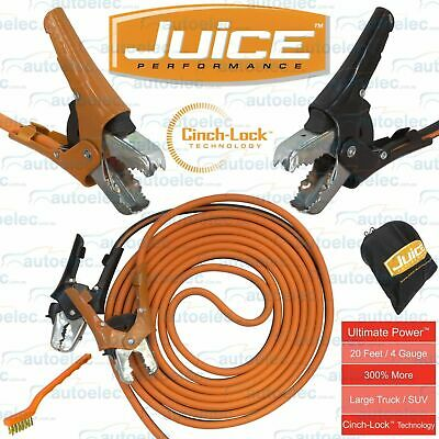 """Juice """"ultimate Power"""" 700Amp 6.1M Booster Cable Jumper Leads 350A C Bc0860"""