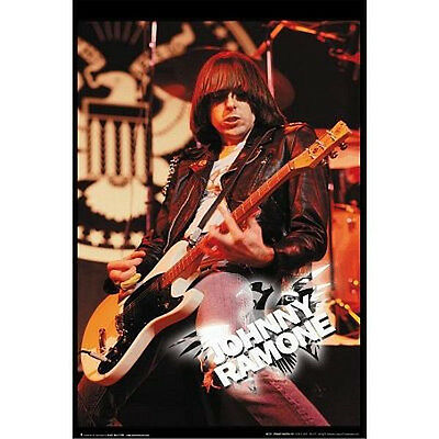 JOHNNY RAMONE - LIVE MUSIC POSTER - 24x36 SHRINK WRAPPED - RAMONES MUSIC 720