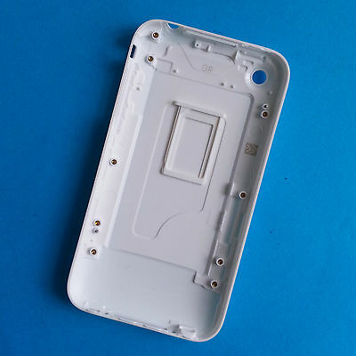 IPHONE 3G 16GB WHITE HOUSING BACK BATTERY COVER CASE + SIM CARD TRAY NEW
