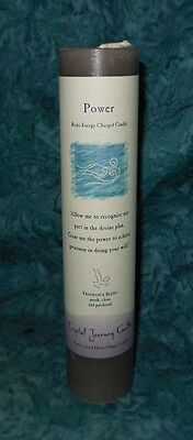 New 1 Power Charged Pillar Crystal Journey Candle Magic Herbal Healing Blend