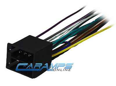 NEW WIRE HARNESS for JENSEN MP5620 receiver - $12.76   PicClick Wiring Jensen Harness Stereo Car Mp Bt on