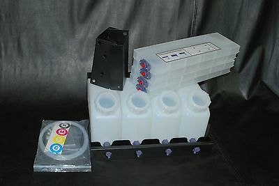 Vertical Bulk Ink System (4x4) for Roland VS Model Printers. US Fast Shipping