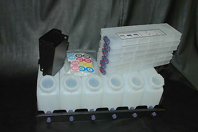 Vertical Bulk Ink System (6x6) for Roland VS Model Printers. US Fast Shipping