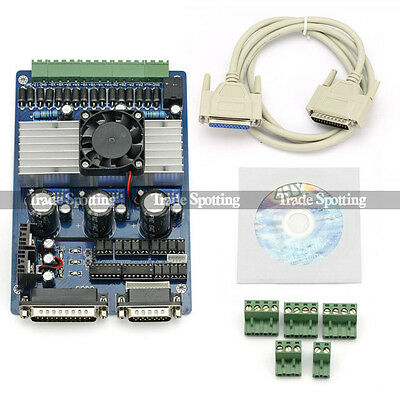 CNC Router 3 Axis TB6560 3.5A Stepper Motor Driver For Engraving Machine US Ship