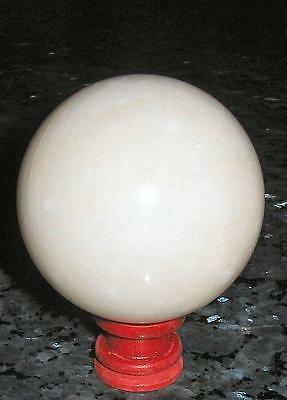 Stunning 5.5CM MARBLE SPHERE, Intuition / REIKI HEALING / FREE STAND / A1 GRADE