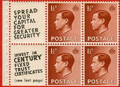 SG. 459 a. PB5 (11). 1 1/2d Red - Brown. A Fine UNMOUNTED MINT.