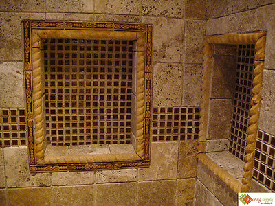 Preformed Ready to Tile Square Recess 14 x 14 Made in the USA (Flange)