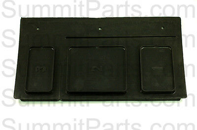 Black Soap Box Lid For Gen4 Wascomat Washers - 613302