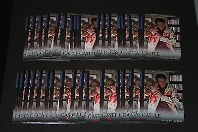 Lot of 35 2013 Cryptozoic Castle Seasons 1&2 #13 Saved by the Bell (Castle)!!!