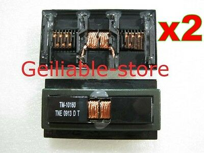 "2 pcs Inverter Transformer TM-10160 for SAMSUNG LCD T240 T260 22"" 24"" ...etc New"