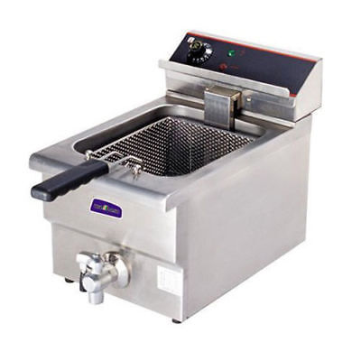 Benchtop Deep Fryer with Cold Zone, Single Vat 10 Litre, Commercial Quality