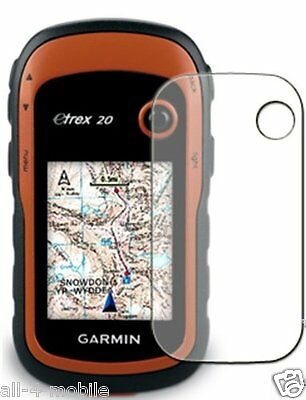 3 x Clear screen protector for Garmin eTrex 20 / 30 - GPS navigation accessory