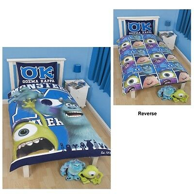 Quot Disney Monsters Inc University Panel Junior Cot Quot