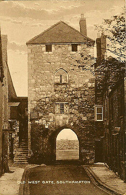 SOUTHAMPTON ( Hampshire) : Old West Gate