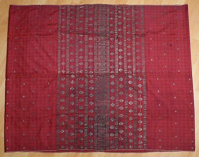 Superb Antique INDONESIA Sumatra Minangkabau Songket