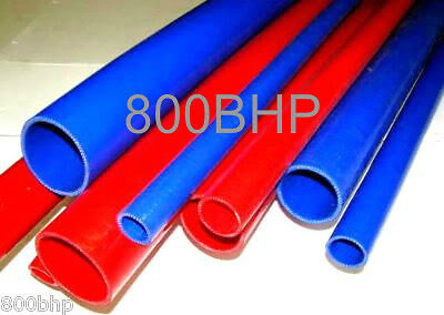 """RED 1M Silicone Hose 70mm ID (1M Length Pipe) 2.75"""" Straight (Silicon)"""