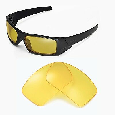 New Walleva Yellow Replacement Lenses For Oakley Gascan Sunglasses