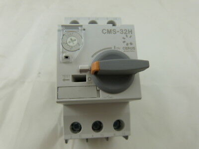 New (Lot of 3) Cerus Manual Motor Starter CMS-32H 4 ~ 6 Amp 2-Year Warranty