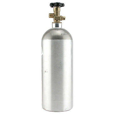 5 lb Aluminum CO2 Air Tank - Keg Bar Kegerator Tap Gas Cylinder Draft Beer Parts