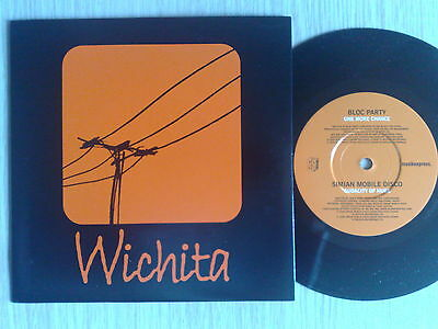 """Bloc Party / Simian Mobile Disco - One More Chance - 45 Giri 7"""" Germany"""