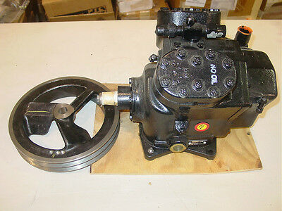 New Bussfield A/C compressor w/ Pulley, CH9954, 93480, 4130-01-335-8005