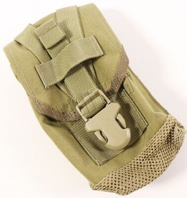 NEW Eagle Industries MLCS Slip-On Shoulder Pads Tan Buckle Navy SEAL MOLLE