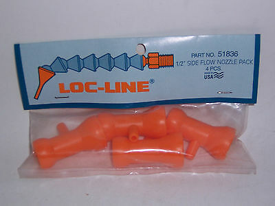 "Loc-Line 1/2"" Hose Side Flow (1/8"" Dia Hole) In-Line Nozzle 51836 NEW!!!"