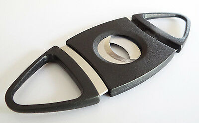 Pack of 6 Double Blades Guillotine Cigar Cutter Pocket Knife Scissors Stainless