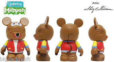 "NEW DISNEY VINYLMATION 3"" MUPPETS RIZZO FIGURE SERIES 1"